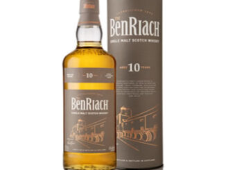 BenRiach 10 Year Single Malt Scotch Whisky is classic Speyside in character, with the focus on ex-bourbon and ex-sherry casks. This produces a fresh, lively, fruit-laden single malt with warm oak spices, green apple, dried apricots, peach and banana with subtle touches aniseed, lemon zest and barley.