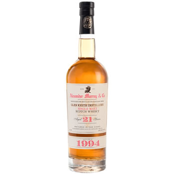 Alexander Murray & Co Glen Keith 21-year Single Malt Scotch Whisky 1994